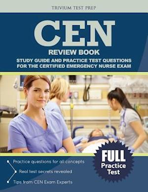 Bog, paperback Cen Review Book af Cen Exam Prep Team, Trivium Test Prep
