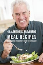 41 Alzheimer's Preventing Meal Recipes af Joe Correa