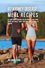67 Kidney Disease Meal Recipes af Joe Correa