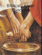 Biblical Leader Principles af Dr. Lee Miller