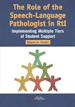 The Role of the Speech-Language Pathologist in RTI