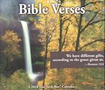 Bible Verses 2018 Calendar