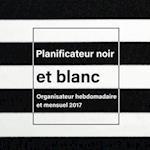 Planificateur Noir Et Blanc