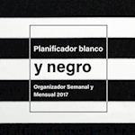 Planificador Blanco y Negro