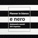Planner in Bianco E Nero