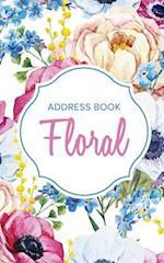 Address Book Floral