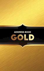 Address Book Gold