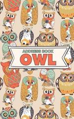 Address Book Owl