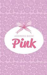 Address Book Pink
