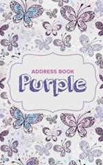 Address Book Purple