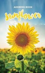 Address Book Sunflower