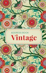 Address Book Vintage