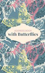 Address Book with Butterflies