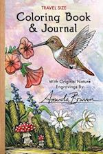 Travel Size Coloring Book & Journal