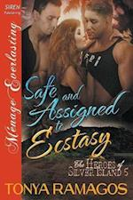 Safe and Assigned to Ecstasy [The Heroes of Silver Island 5] (Siren Publishing Menage Everlasting)