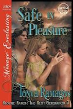 Safe in Pleasure [Rescue Ranch: The Next Generation 3] (Siren Publishing Menage Everlasting)