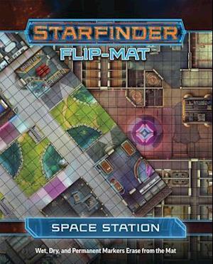 Bog ukendt format Starfinder Flip-mat - Space Station af Paizo