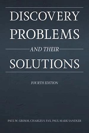 Discovery Problems and Their Solutions