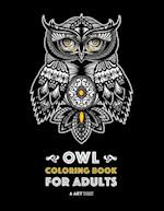 Owl Coloring Book for Adults