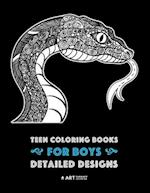Teen Coloring Books for Boys