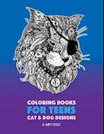 Coloring Books for Teens af Art Therapy Coloring