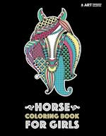 Horse Coloring Book for Girls