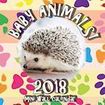 Baby Animals! 2018 Mini Wall Calendar
