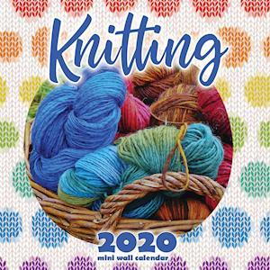 Knitting 2020 Mini Wall Calendar