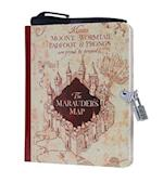 Harry Potter: Marauder's Map Lock and Key Diary