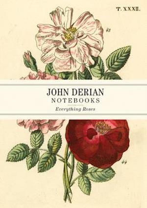 John Derian Paper Goods: Everything Roses Notebooks