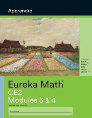 French - Eureka Math Grade 3 Learn Workbook #2 (Module 3-4)