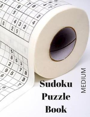 Sudoku Puzzle Book: 200 PUZZLES WITH SOLUTION, One Puzzle per page, Large Print, Matte.