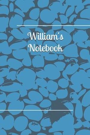 William Personalised Notebook