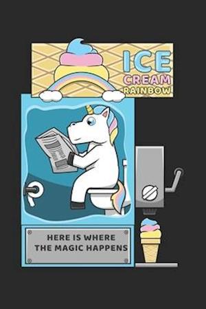 Ice Cream Rainbow Here Is Where The Magic Happens