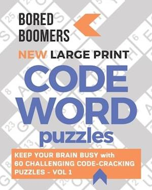 Bored Boomers New Large Print Codeword Puzzles