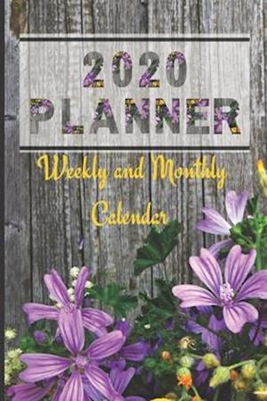 2020 Planner Weekly and Monthly Calendar
