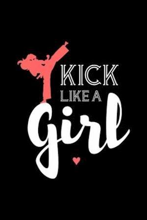 Kick Like A Girl Notebook