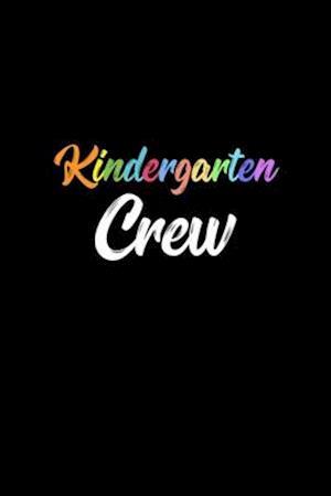 Kindergarten Crew Notebook