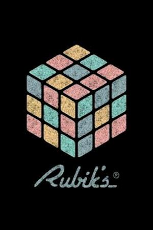 Rubik's Cube Pastell-Colored Print