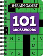 Mini Brain Games 101 Crosswords
