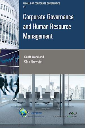 Bog, hæftet Corporate Governance and Human Resource Management af Geoffrey Wood, Chris Brewster