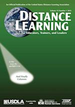 Distance Learning Magazine, Volume 12, Issue 1, 2015