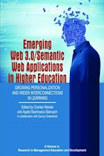 Emerging Web 3.0/Semantic Web Applications in Higher Education