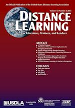 Distance Learning Magazine, Volume 12, Issue 3, 2015