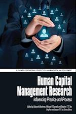 Human Capital Management Research (Contemporary Perspectives in Human Capital and Development)