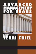 Advanced Management for Deans