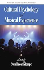 Cultural Psychology of Musical Experience (Hc)