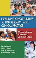 Expanding Opportunities to Link Research and Clinical Practice (Research in Professional Development Schools)