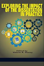 Exploring the Impact of the Dissertation in Practice af Valerie A. Storey