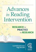 Advances in Reading Intervention af Peggy Mccardle, Carol McDonald Connor